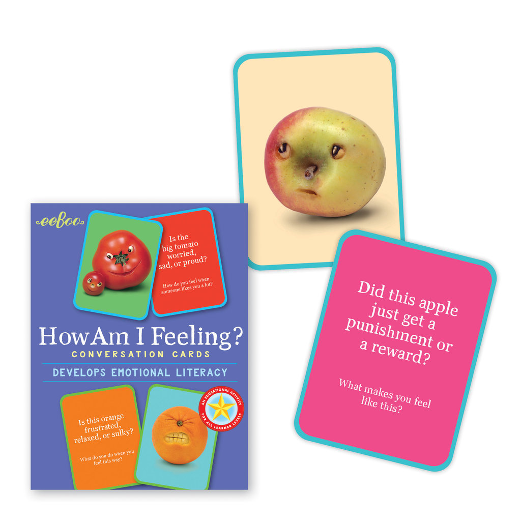 Eeboo How Am I Feeling? Conversation Cards