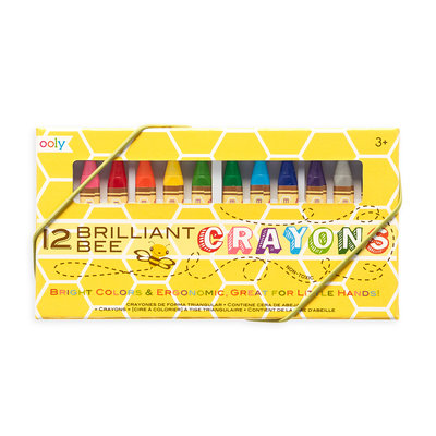 OOLY OOLY Brilliant Bee Crayons-12 Pack