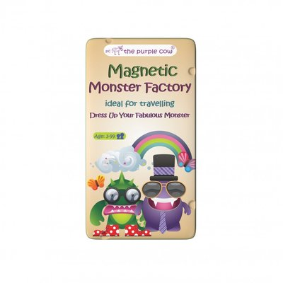 The Purple Cow Magnetic Monster factory