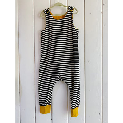 Wild Ones Romper Stripes