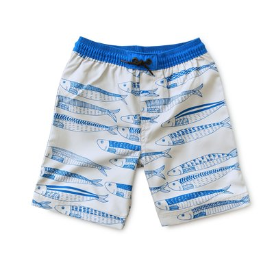 TEA COLLECTION Full-Length Swim Trunks - King Sardine