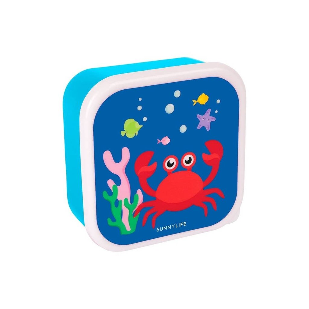 SUNNY LIFE Kids Nested Containers Under the Sea Set of 3