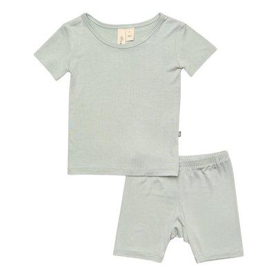 KYTE BABY Sage Short Sleeve Toddler Pajama Set