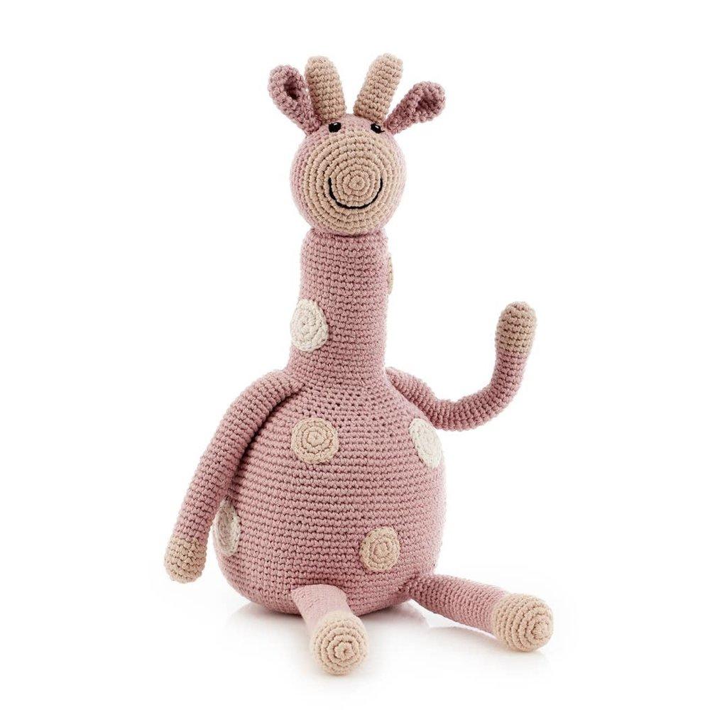 Pebble Large Organic Dusky Pink Giraffe
