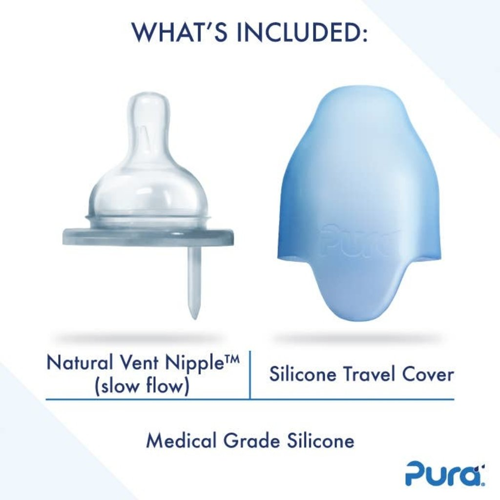 PURA Pura Stainless Sippy w/ Silicone Sleeve