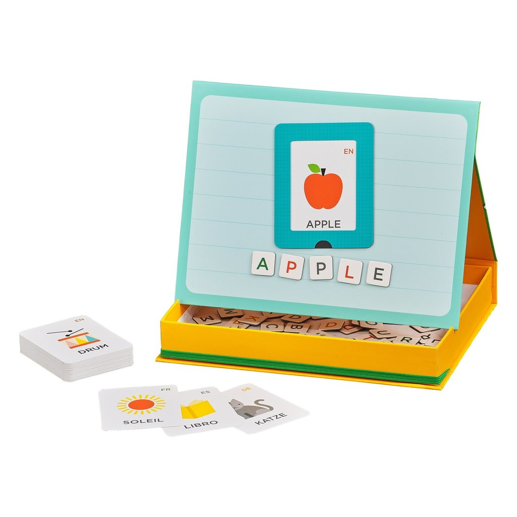 PETIT COLLAGE Magnetic Play + Learn Alphabet