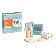 PETIT COLLAGE Little Elephant Gift Set