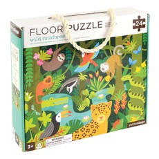 PETIT COLLAGE Wild Rainforest Floor Puzzle
