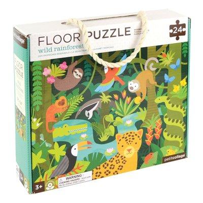 PETIT COLLAGE Wild Rainforest Floor Puzzle