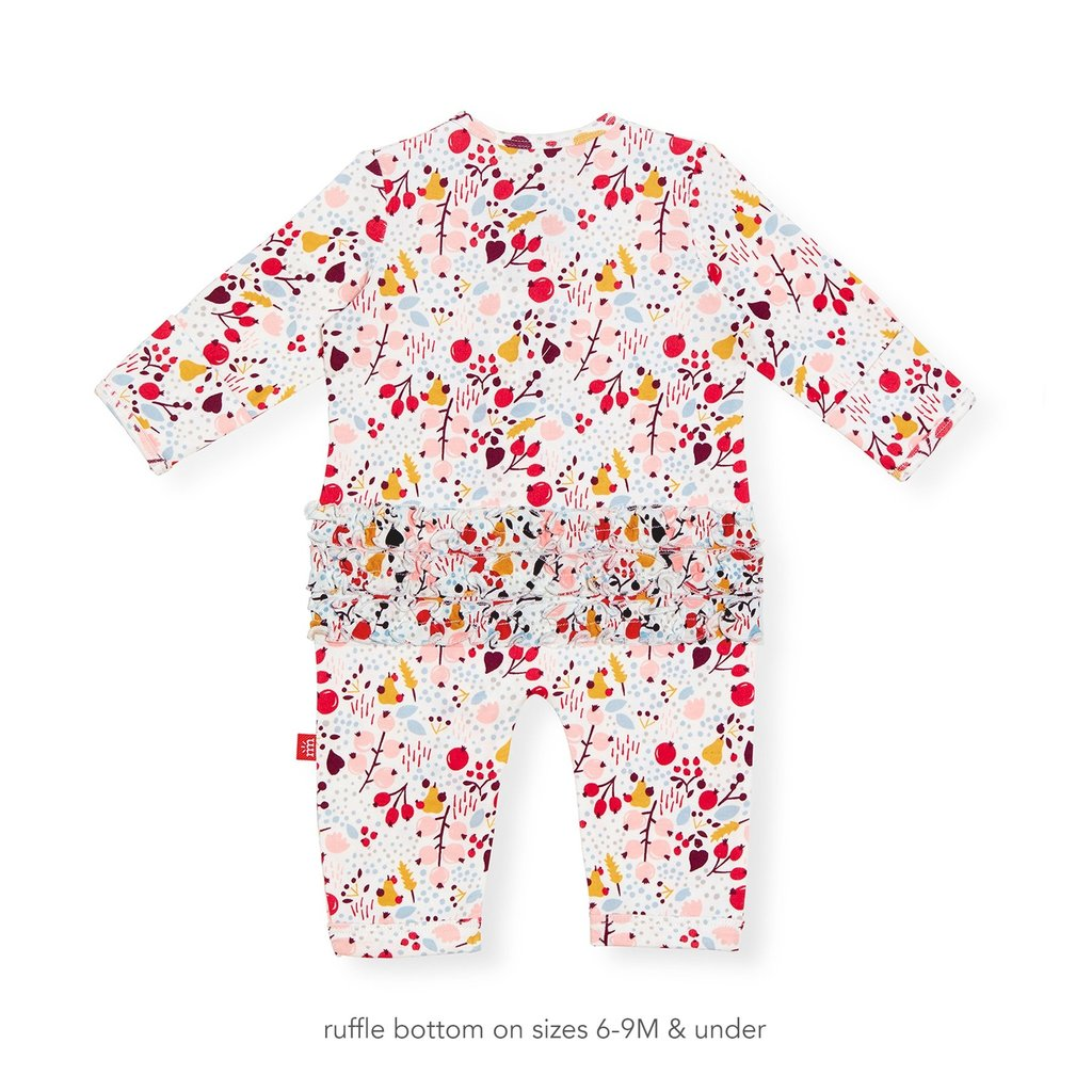 MAGNETIC ME Pom Pom Organic Cotton Magnetic Coverall