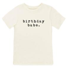 Tenth & Pine Organic Cotton 'Birthday Babe' Tee
