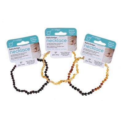 ECOPIGGY EcoPiggy Polished Baltic Amber Necklace