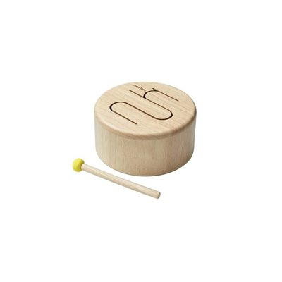 PLAN TOYS Plan Toys Solid Drum - Natural