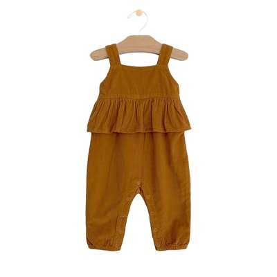 City Mouse Amber Cord Romper
