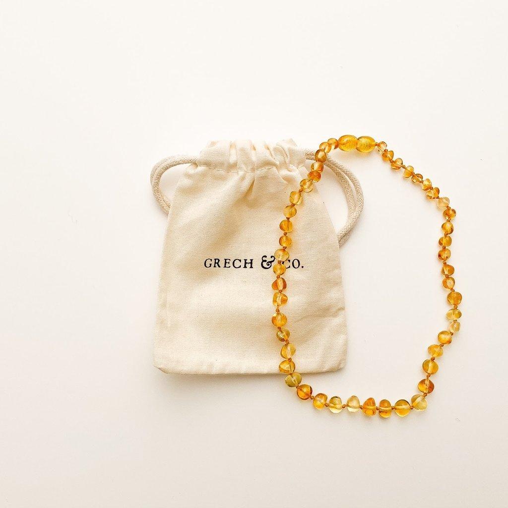 Grech & Co Baltic Amber Children's Necklace - Enlighten