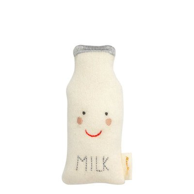 MERI MERI Organic Cotton Milk Bottle Rattle