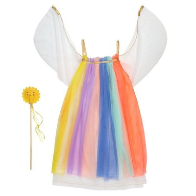MERI MERI Rainbow Girl Dress Up 3-4 years