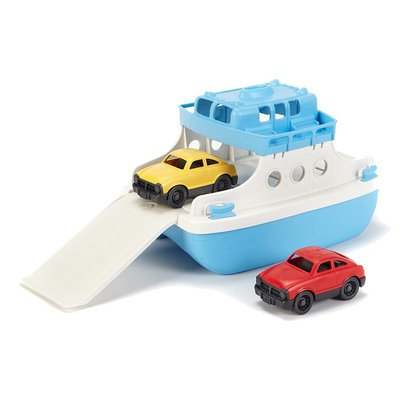 GREEN TOYS Green Toys Ferry Boat with Fastbacks