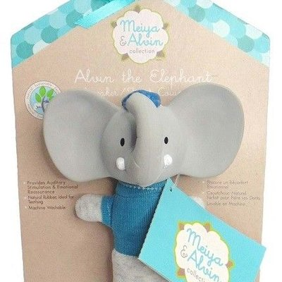 Tikiri Alvin the Elephant Squeaker Toy