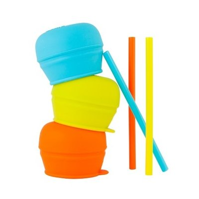 BOON, INC. SNUG Spout Universal Silicone Straw Lids