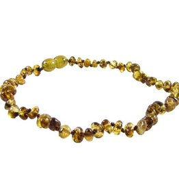 """THE AMBER MONKEY The Amber Monkey 12-13"""" Screw Clasp Necklace"""