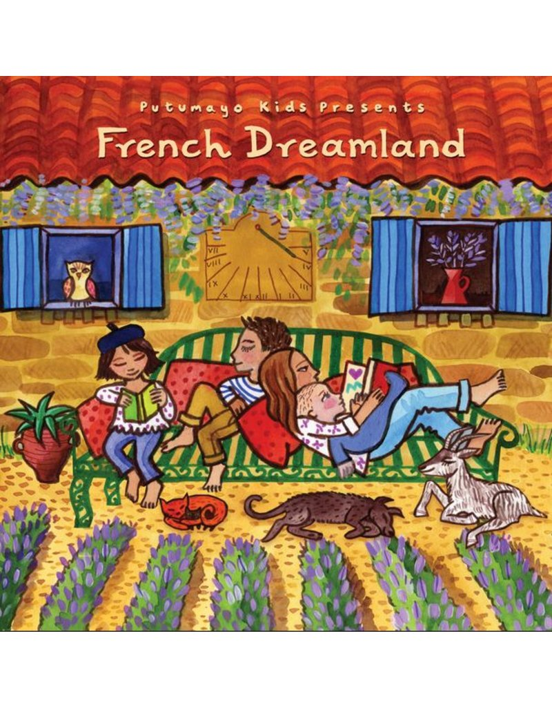 PUTUMAYO French Dreamland CD