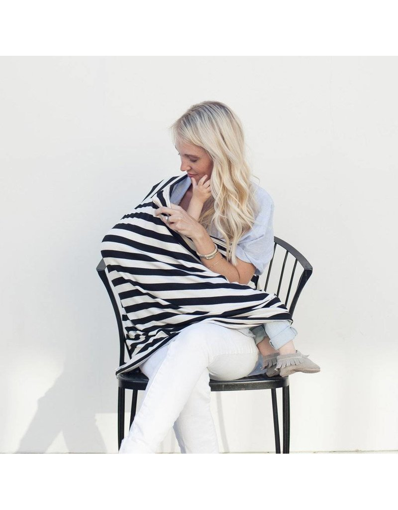 COVERED GOODS Covered Goods Multi-Use Nursing Cover - Stripes