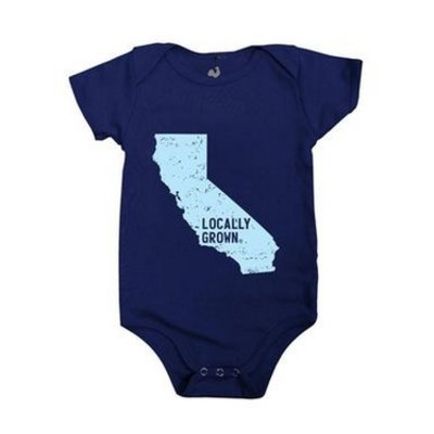 LOCALLY GROWN CLOTHING CO. California Locally Grown Onesie