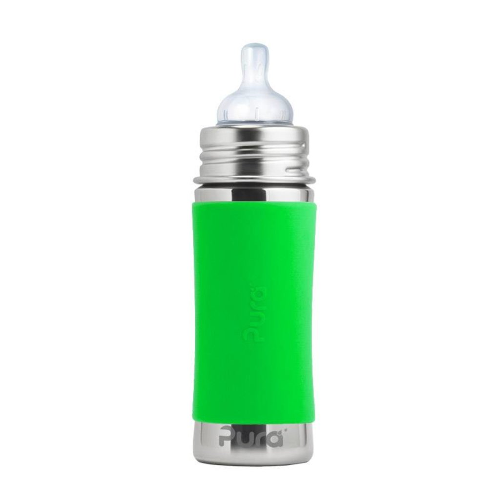 PURA Pura Stainless Bottle with Silicone Sleeve