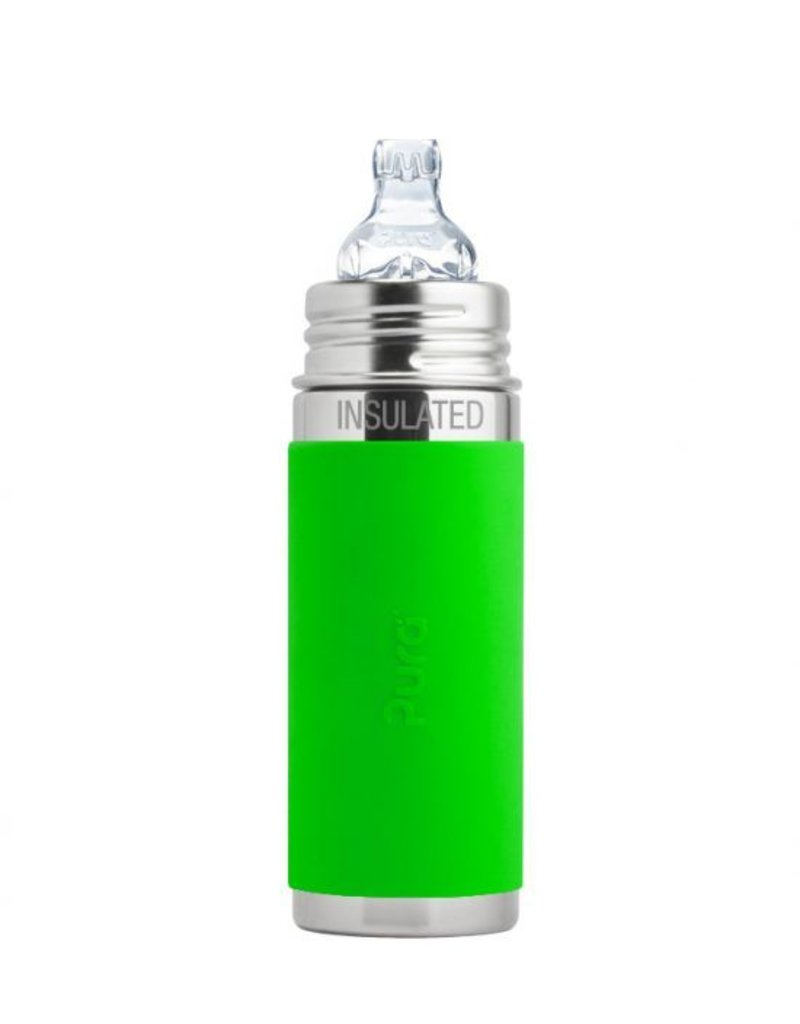 PURA Pura Insulated Sippy w/ Silicone Sleeve