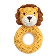 CHEENGOO Cheengoo Lion Ring Rattle