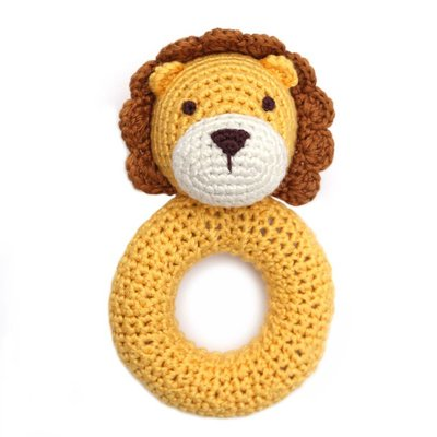 CHEENGOO Cheengoo Lion Ring Rattle