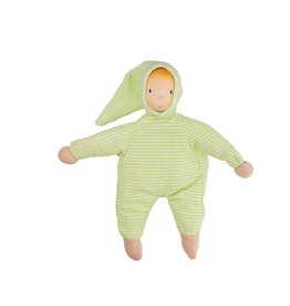 CREATIVE EDUCATION OF CANADA Seraphin Doll - Green Stripe