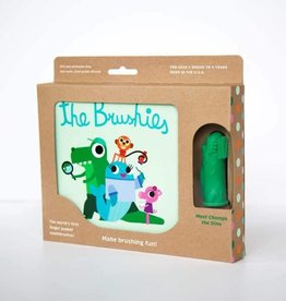 THE BRUSHIES Chomps the Dino & The Brushies Book