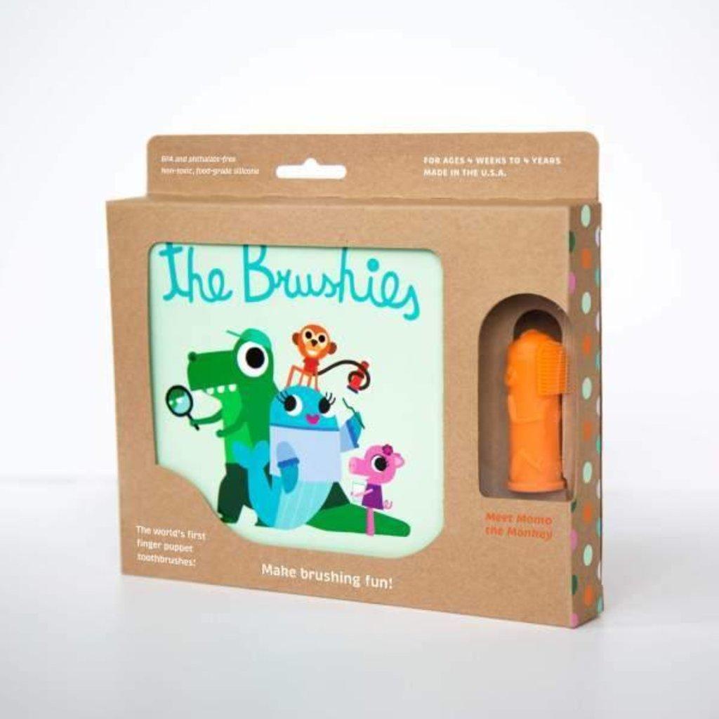 THE BRUSHIES Momo the Monkey & The Brushies Book