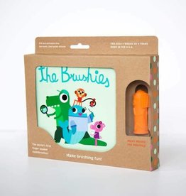 THE BRUSHIES Momo the Monkey & The Brushies Book