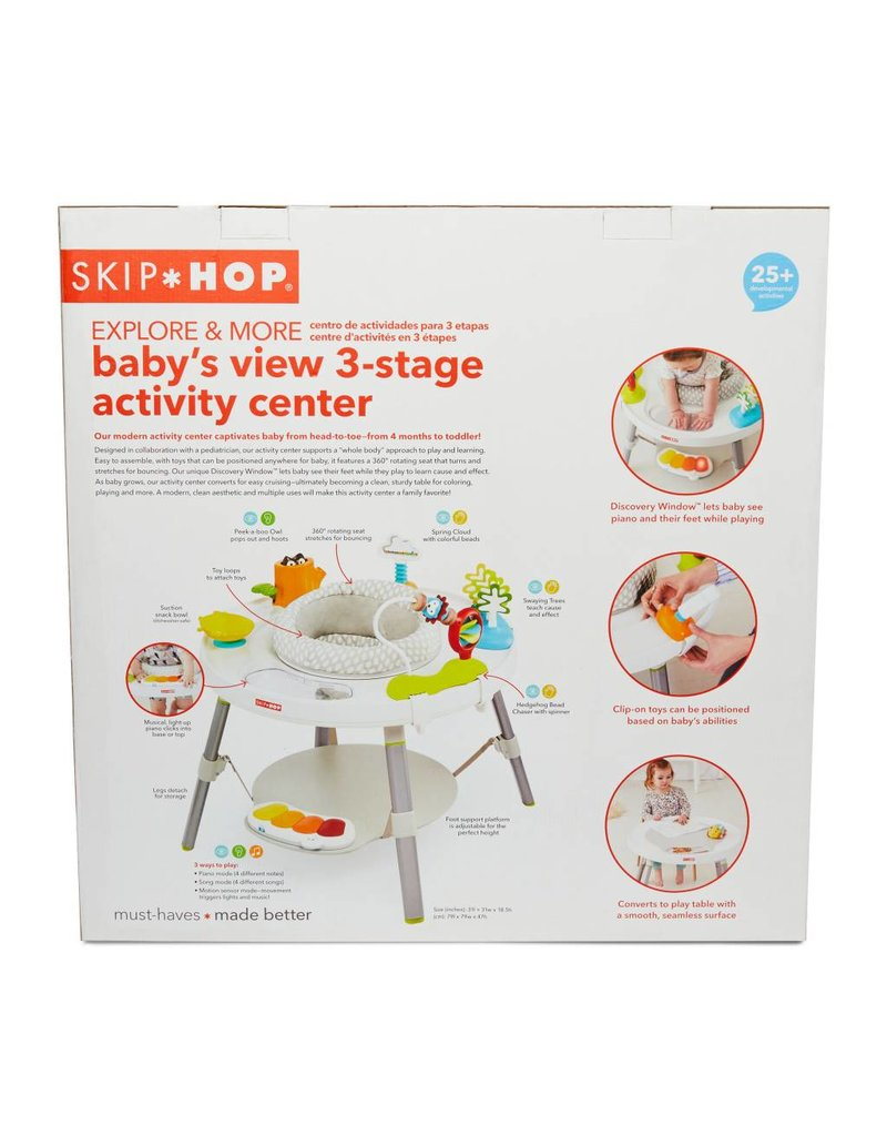 b4fb92a8f EcoBambino  Explore   More 3-Stage Activity Center - EcoBambino