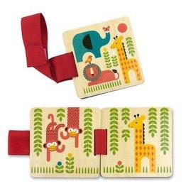PETIT COLLAGE Petit Collage Wood Stroller Book