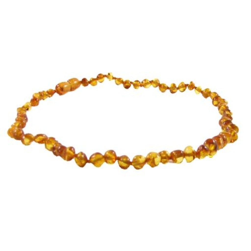 "THE AMBER MONKEY The Amber Monkey 12-13"" Screw Clasp Necklace"