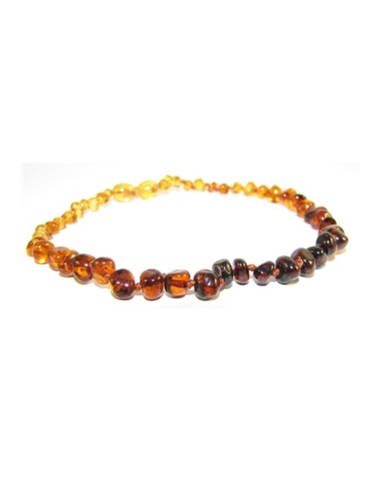 """THE AMBER MONKEY The Amber Monkey 10-11"""" Pop Clasp Necklace"""