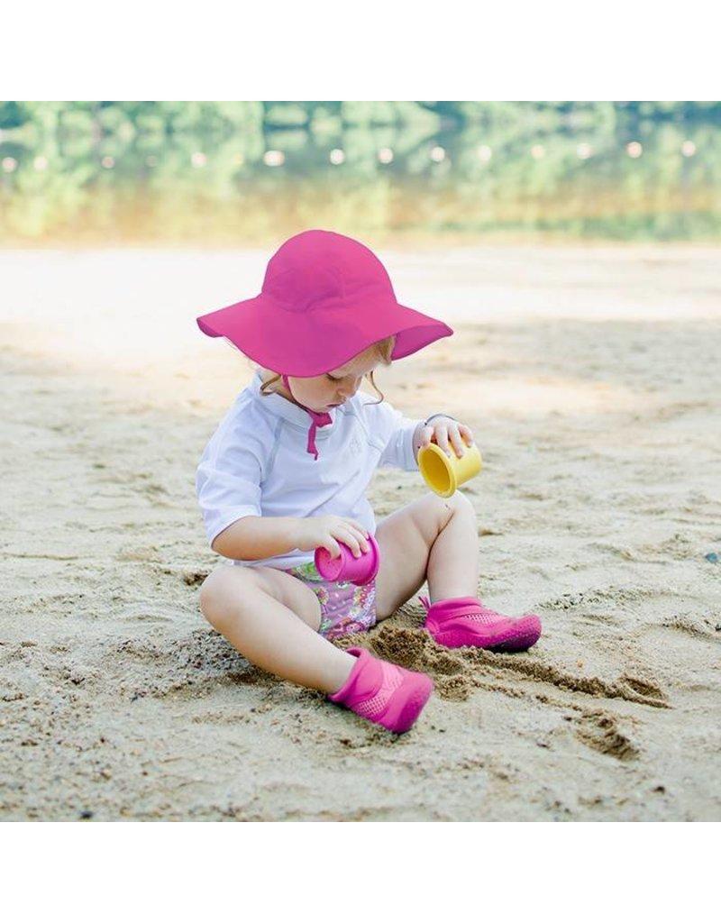 479e2a53956 EcoBambino  Hot Pink Brim Sun Protection Hat - EcoBambino