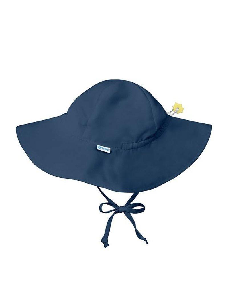 EcoBambino  Navy Blue Brim Sun Protection Hat - EcoBambino e413e621125