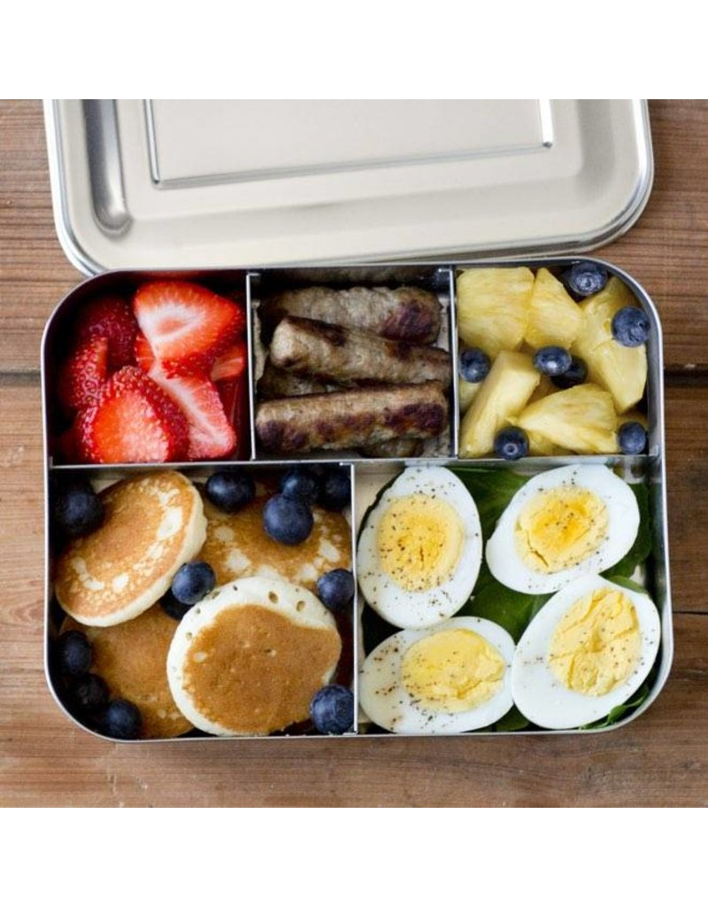 LUNCHBOTS LunchBots Bento Cinco with Dots