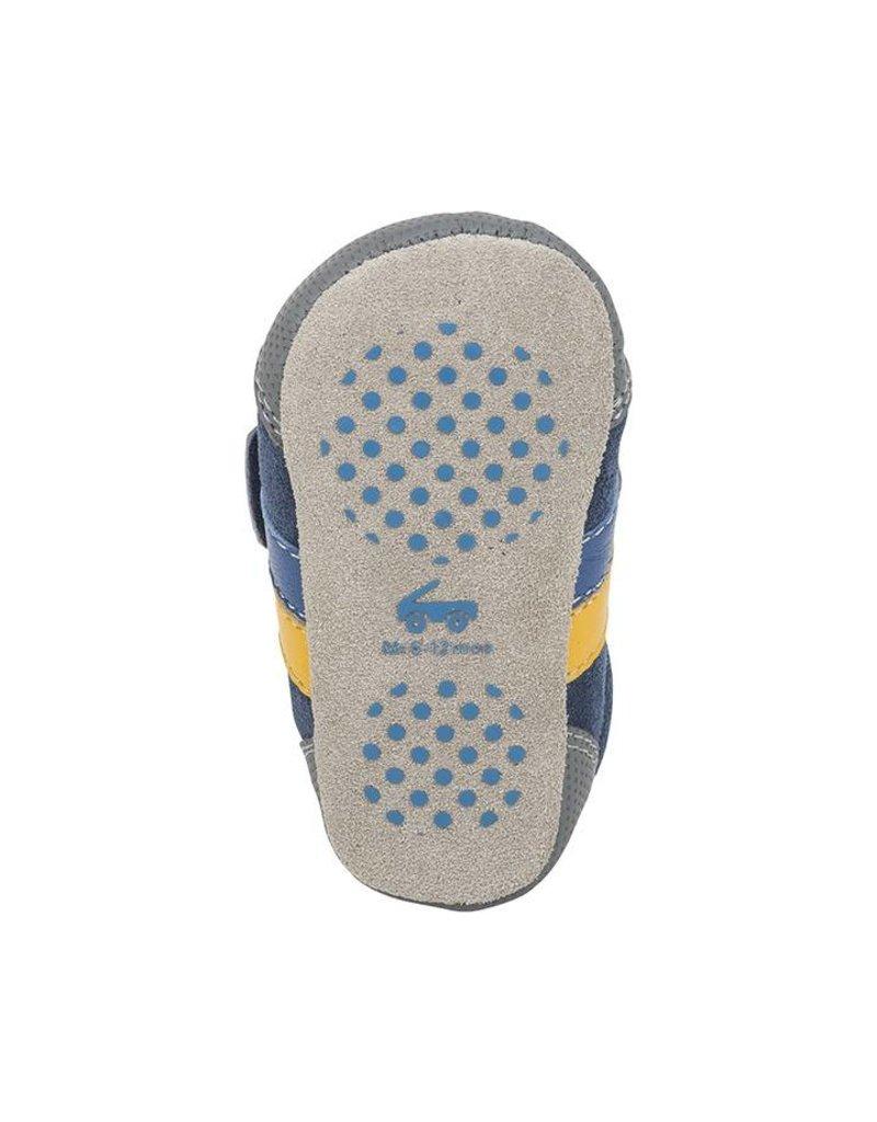 SEE KAI RUN Randall II Navy Crib Shoe