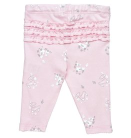 UNDER THE NILE Cottontail Bunny Ruffle Back Pants