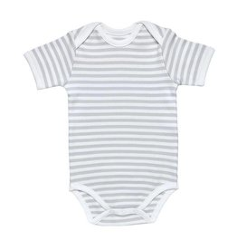 UNDER THE NILE s/s Lap Shoulder Babybody