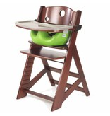 KEEKAROO Keekaroo Mahogany High Chair + Infant Insert