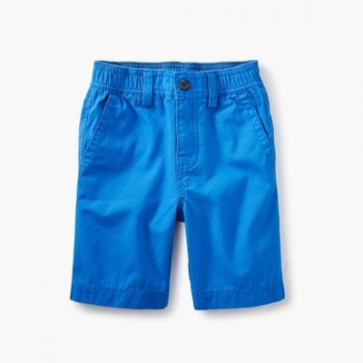 TEA COLLECTION Tea Tropic Blue Canvas Shorts