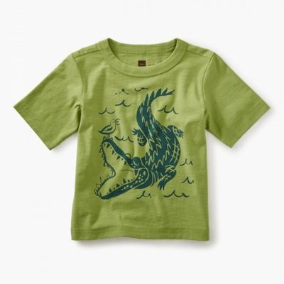 TEA COLLECTION Tea Alligator Graphic Tee