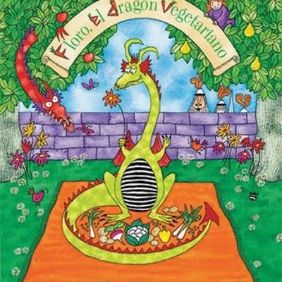 BAREFOOT BOOKS Herb, The Vegetarian Dragon